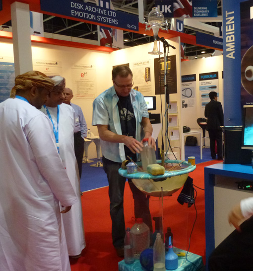 Waterdrum-at-Cabsat-Dubai-2012-2