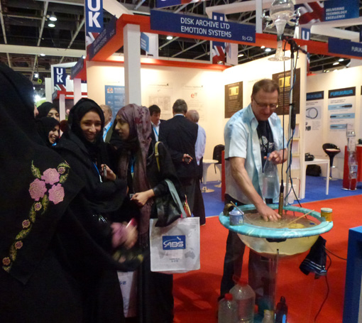 Waterdrum-at-Cabsat-Dubai-2012-3